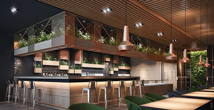 Gợi ý cách thiết kế quán cafe sân vườn hiện đại nhất